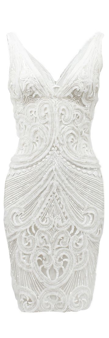White Dress Perfect for engagement party