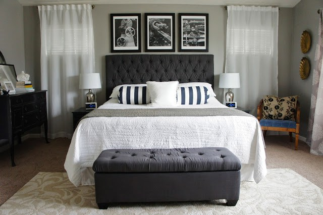 sherwin williams dorian gray is one of the best gray or greige paint colours for a bedroom or any room in your home