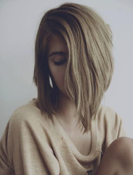 Enchanting Inverted Bob Haircuts For Mid Length Hair We