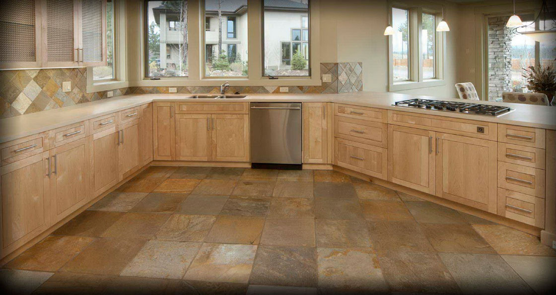 Natural Stone Floors Kitchen