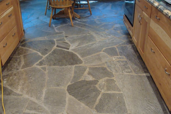 Attrayant Kitchen Stone Floors Ideas We Know How To Do It