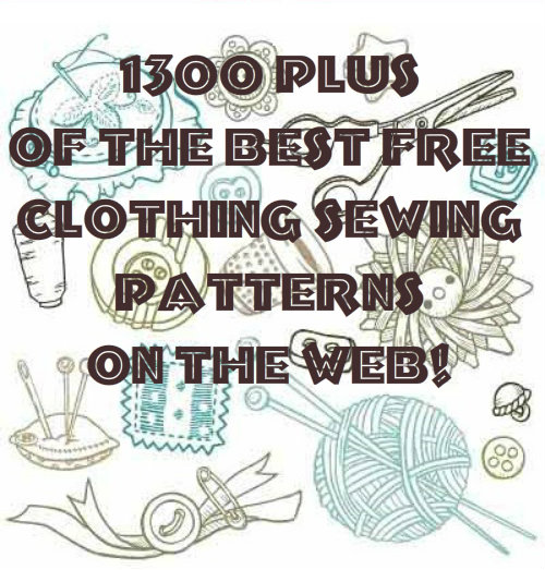 Over 1300 of the best free clothing sewing patterns on the web! | We