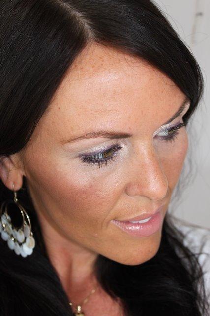 FOTD – purple eyeliner on neutral eyes