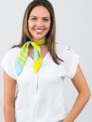 Pan Am Scarf Knot