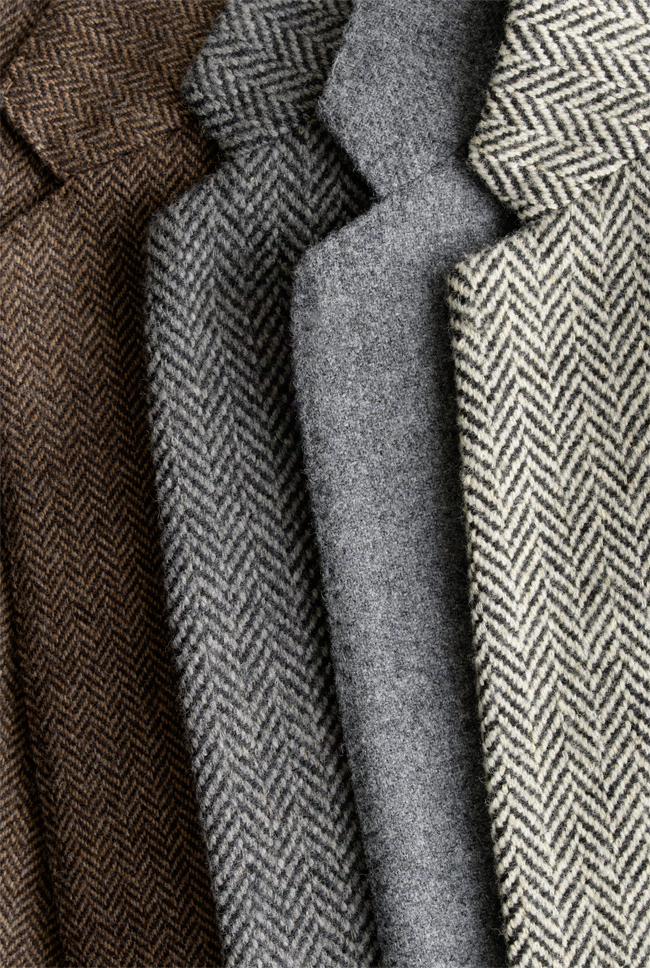 Tweed and Herringbone Blazers for Mens Fall/Winter Fashion.