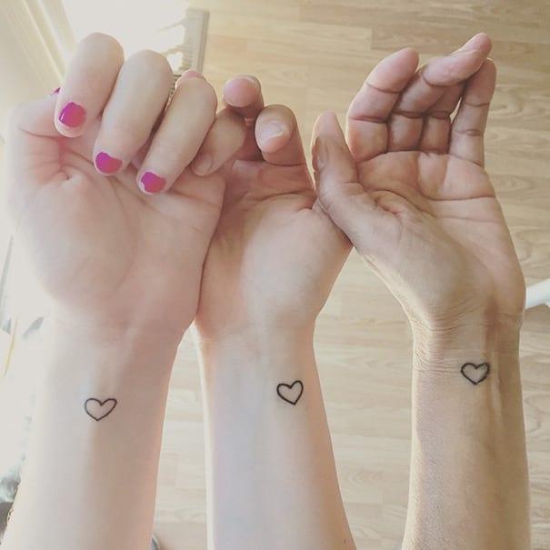 Tiny Heart Tattoo Ideas