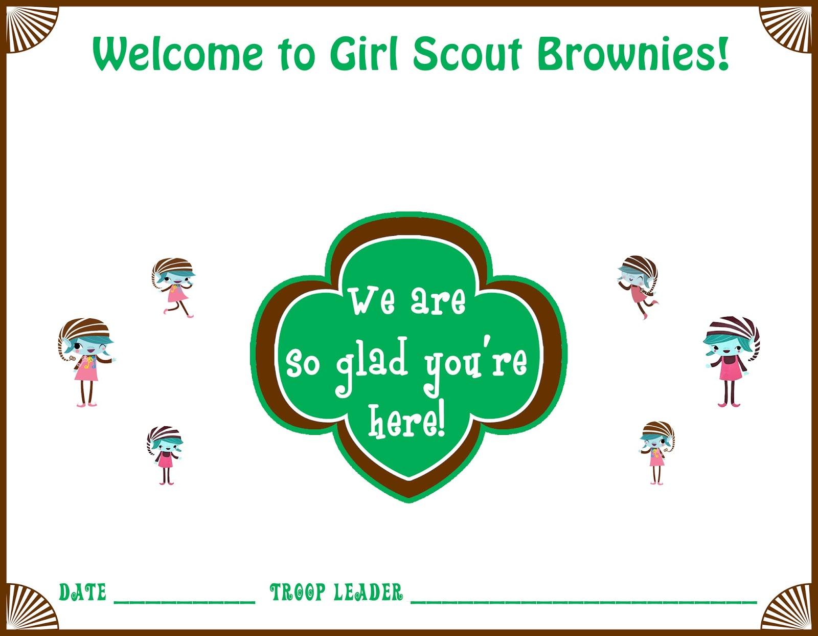 Girl Scouts Daisy Welcome Certificate Ideas We Know How To Do It