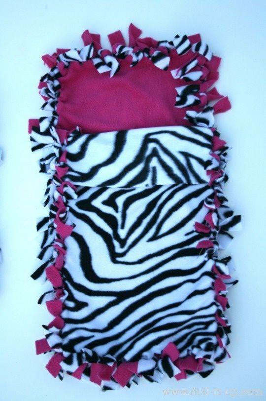 How to Make a Fleece Tie Sleeping Bag