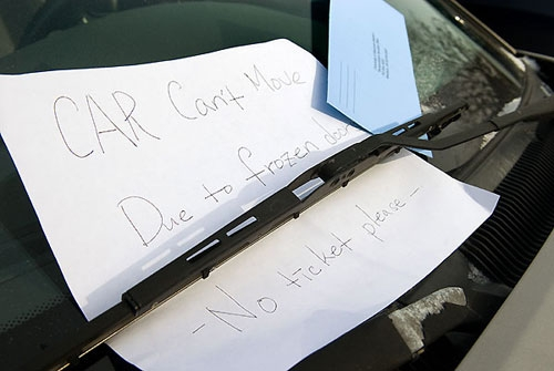 25 most hilarious windshield notes ever...