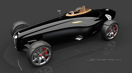 Bentley Barnato Roadster Concept: Return of the Bentley Boys - Classic Driver - MAGAZIN - News
