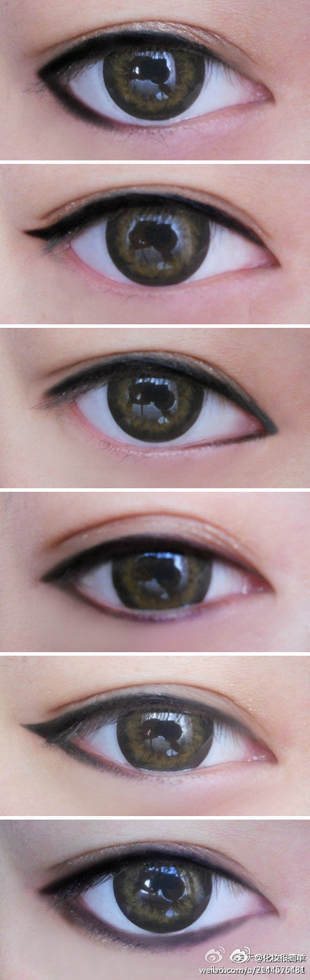 Eyeliner - Different ways - Collection