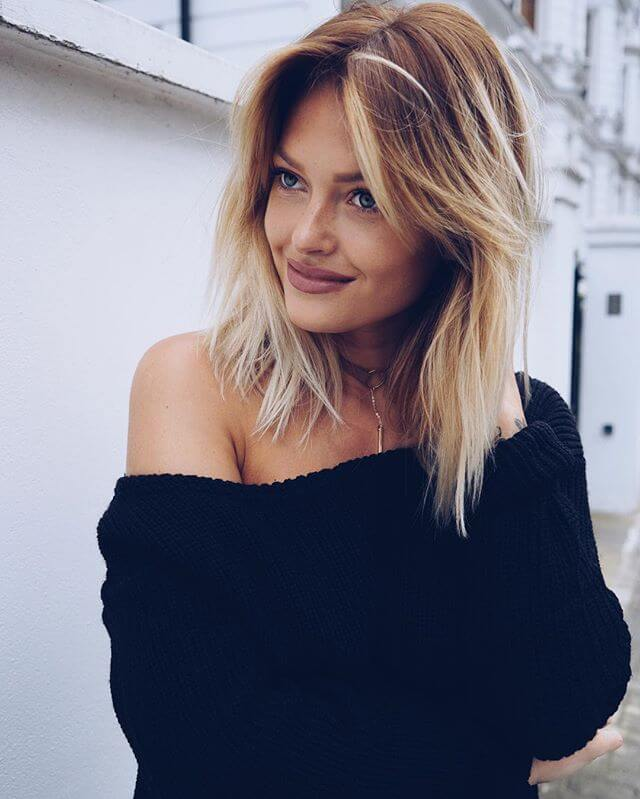 Hairstyle Ideas with Side Bangs