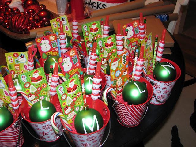 Class gifts.....cute!