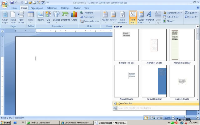 How to design your own monogram in Microsoft Word.