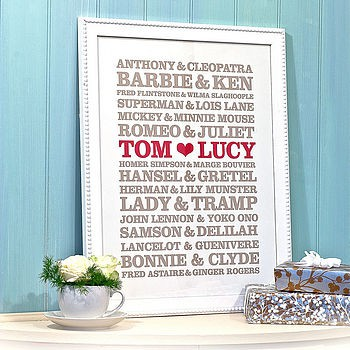 cute couples poster