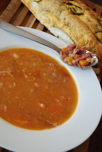 Ham & Navy Bean Soup