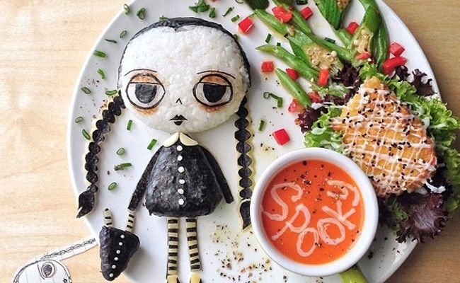 3. Spooky ...!Want to try this one? -   Halloween Food Ideas
