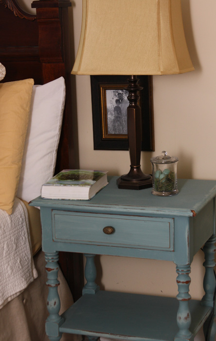 Antique Blue night stands