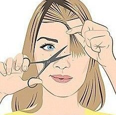 5 DIY Bang Cutting Tutorials That Will Make Messing Up Your Hair Impossible