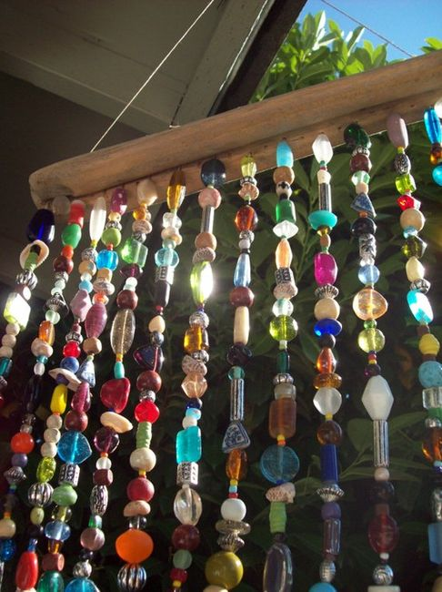 Bead sun catcher.