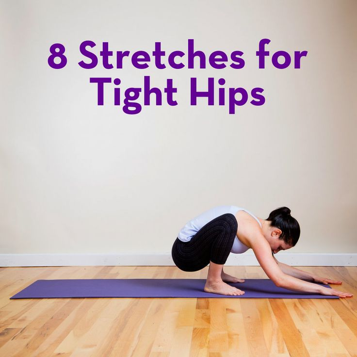 8 Stretches Your Tight Hips