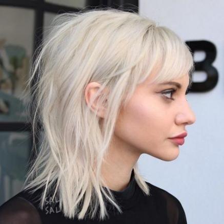 Hairstyles For Medium Length Hair Edgy Bangs 34+ Ideas For 2019 -   11 edgy hair 2019 ideas