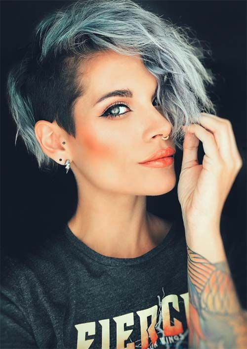 51 Edgy and Rad Short Undercut Hairstyles for Women -   11 edgy hair 2019 ideas