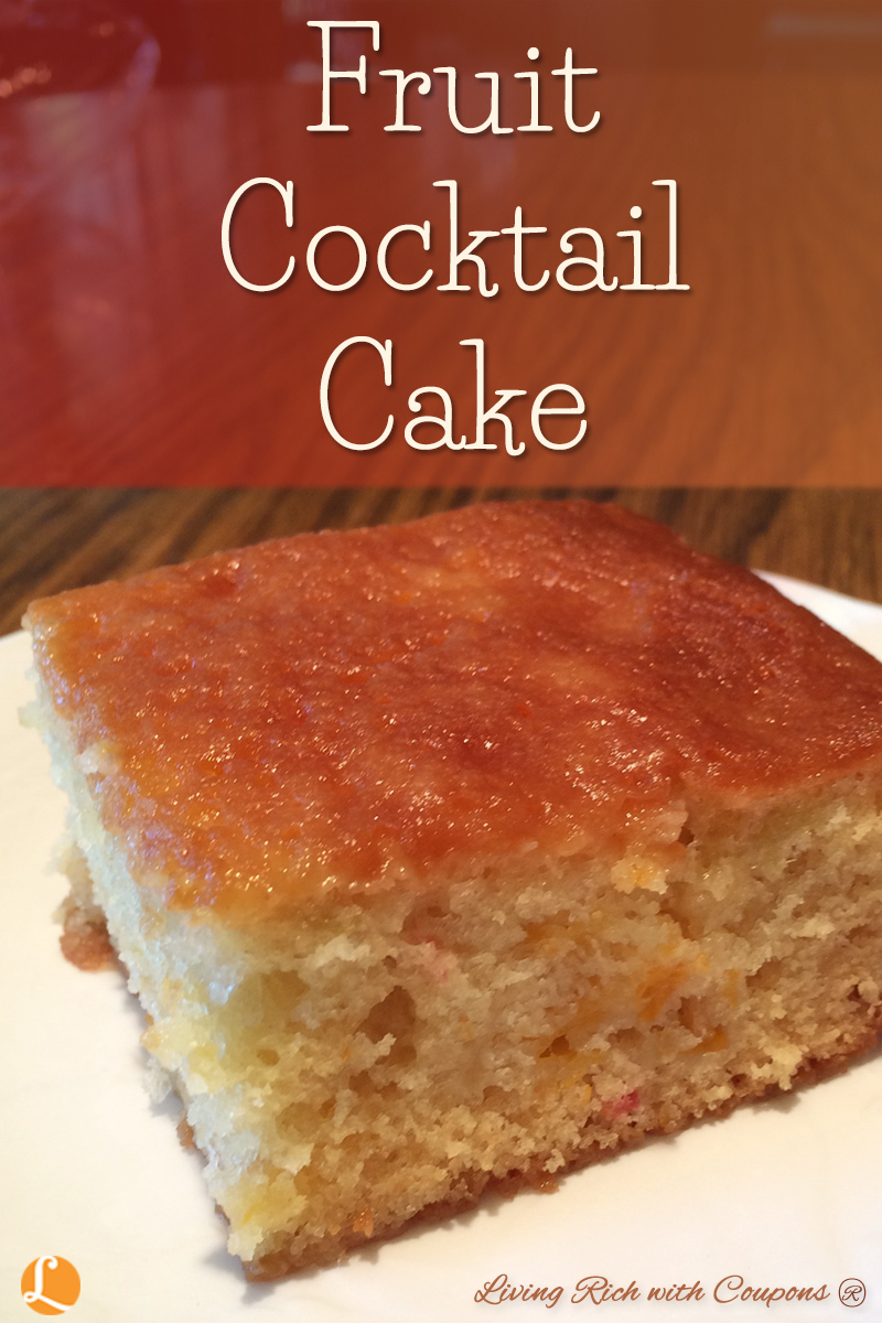 Fruit Cocktail Cake Recipe - -   19 desserts Cake fruit ideas